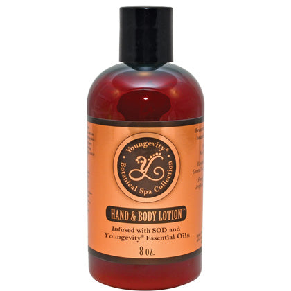 Botanical Spa Hand And Body Lotion - 8 Oz