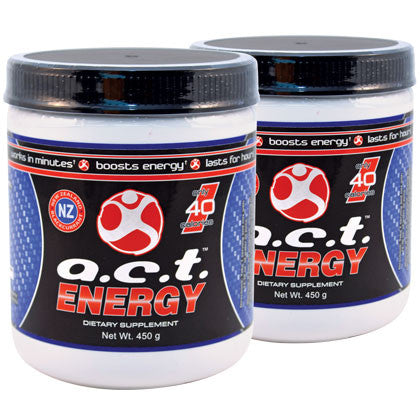 2 A.C.T. Original Canisters (450 Grams Each)