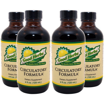Good Herbs - Circulatory Formula (4oz) - 4 Pack
