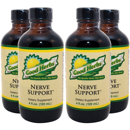Good Herbs - Nerve Support (4oz) - 4 Pack