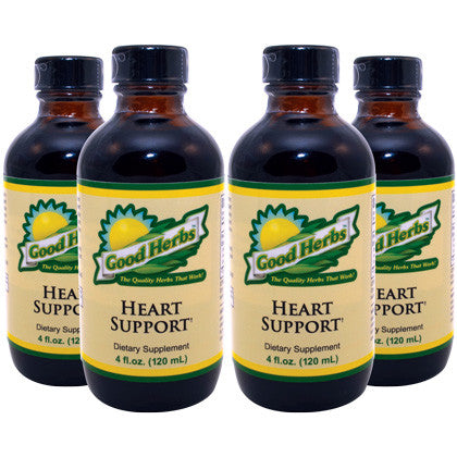 Good Herbs - Heart Support (4oz) - 4 Pack