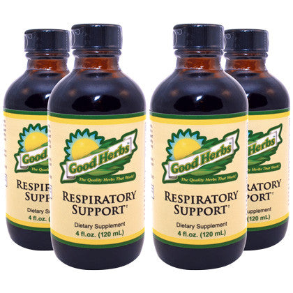 Good Herbs - Respiratory Support (4oz) - 4 Pack