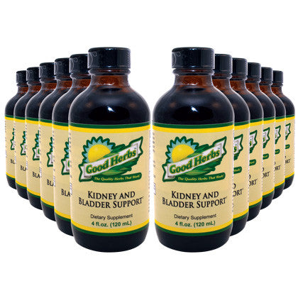 Good Herbs - Kidney and Bladder Support (4oz) - 12 Pack