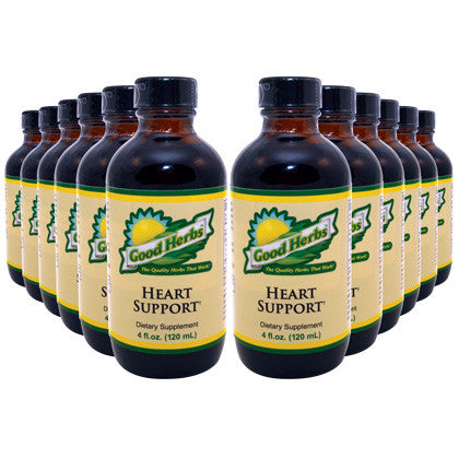 Good Herbs - Heart Support (4oz) - 12 Pack