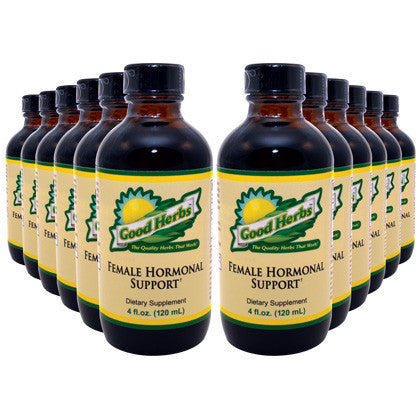 Good Herbs - Female Hormonal Support (4oz) - 12 Pack