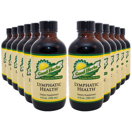 Good Herbs - Lymphatic Health (4oz) - 12 Pack