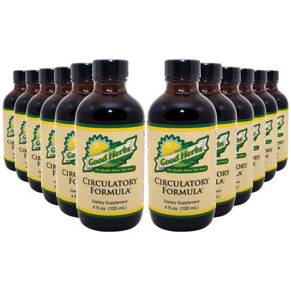 Good Herbs - Circulatory Formula (4oz) - 12 Pack