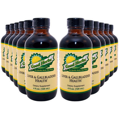 Good Herbs - Liver and Gallbladder Health (4oz) - 12 Pack