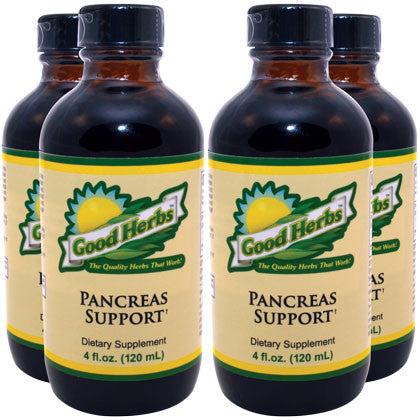 Good Herbs - Pancreas Support (4oz) - 4 Pack