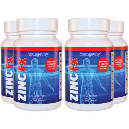 Ultimate™ Zinc Fx™ 4 bottles 30 lozenes ea.