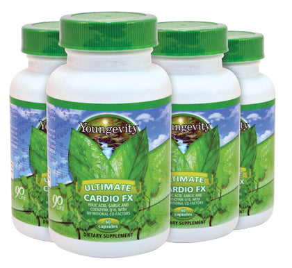 Ultimate Cardio Fx - 60 Capsules - 4 Pack