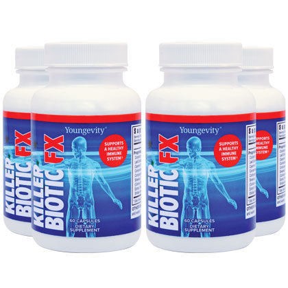 Ultimate Killer Biotic Fx® - 60 Capsules - 4 Pack