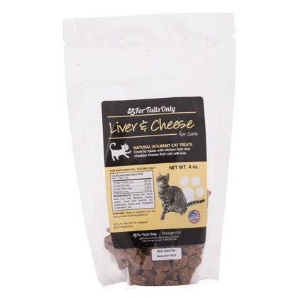 Liver and Cheese Cat Treats (4 oz)