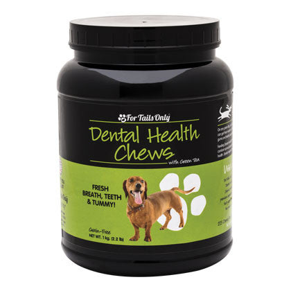 FTO Dental Health Chews for Dogs (1 kg Jar)