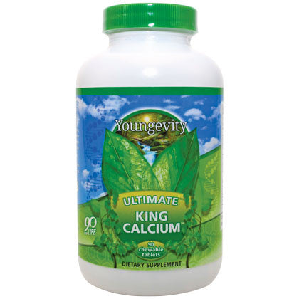 Ultimate, King Calcium - 90 chewable tablets