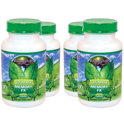 Ultimate Memory FX - 60 Capsules - 4 Pack