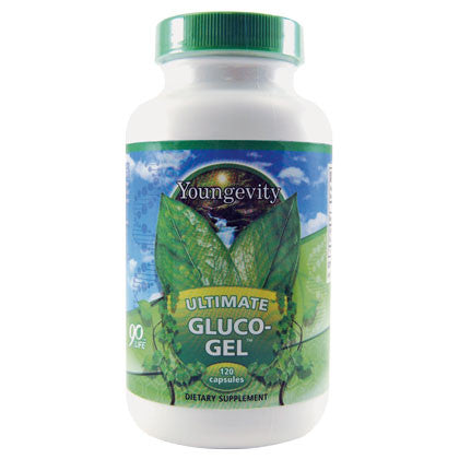 Ultimate Gluco Gel - 120 Capsules