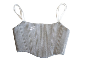 Nike Sweats Corset Light Grey/White (M)