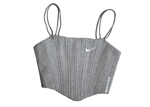 Nike Sweats Corset Light Grey/White Swoosh (S)