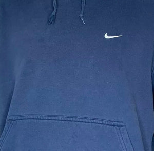 Reworked Nike Corset Hoodie (Navy) Small