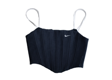 Load image into Gallery viewer, Nike Sweats Corset Dark Navy/White Swoosh (M,L,XL)