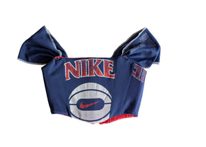 Reversible Vintage Nike Corset with Mesh