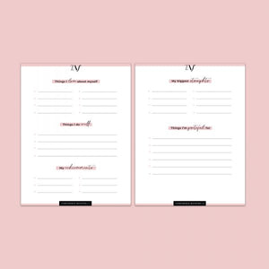 My Confidence Booster (2 Page E-Book Printable)