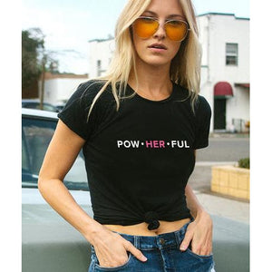 PowHERful Boyfriend Tee