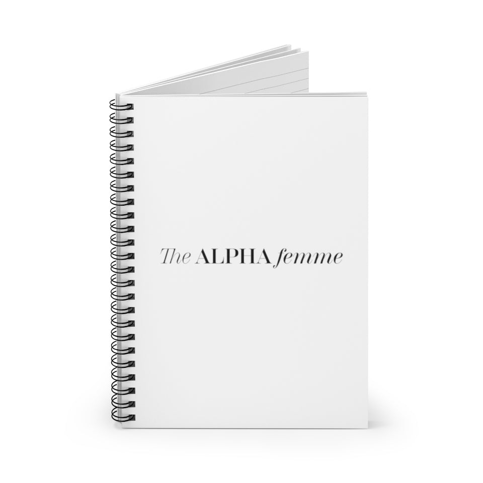 Signature The ALPHA Femme Spiral Notebook