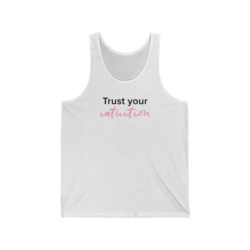 Trust Your Intuition Jersey Tank