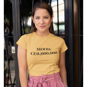 CEO Mood Fitted T-Shirt