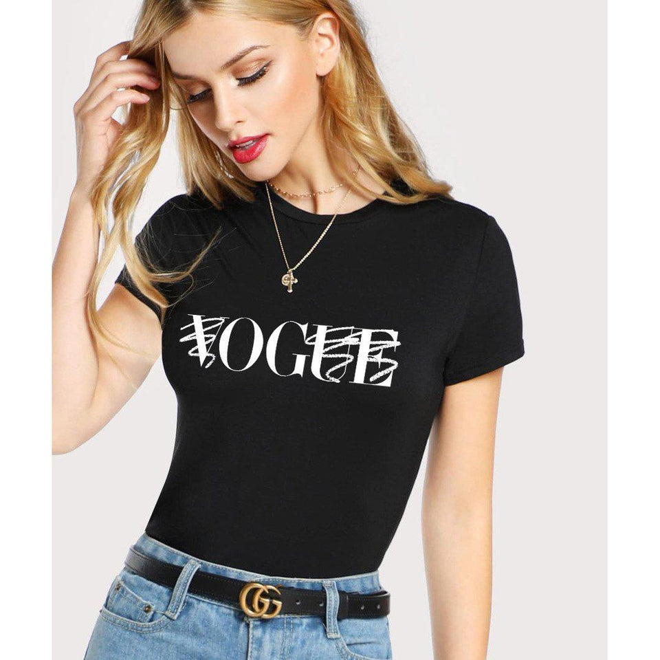 O.G. Vogue T-Shirt Black