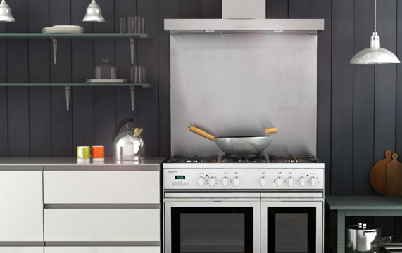 Select splashback and cooker