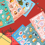 Animal Lovers Sticker Pack
