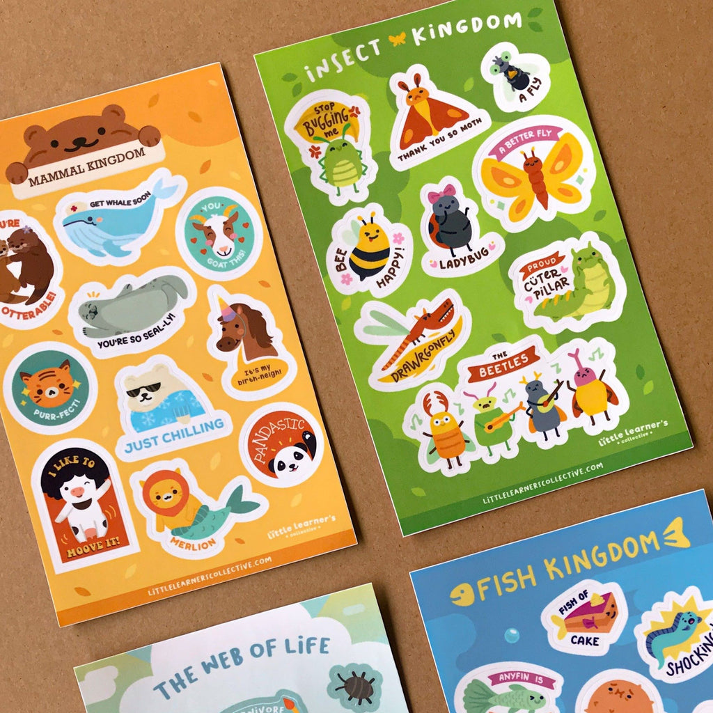 Animal Kingdom Sticker Pack