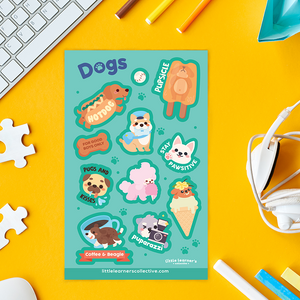 Dogs Sticker Sheet