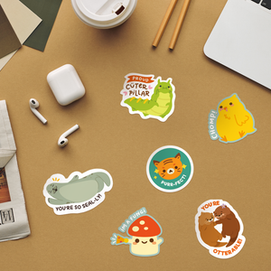 Build Your Own Sticker Sheet: Animal Kingdom Sticker Pack Edition