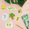 Build Your Own Sticker Sheet: Plant Sticker Pack Edition