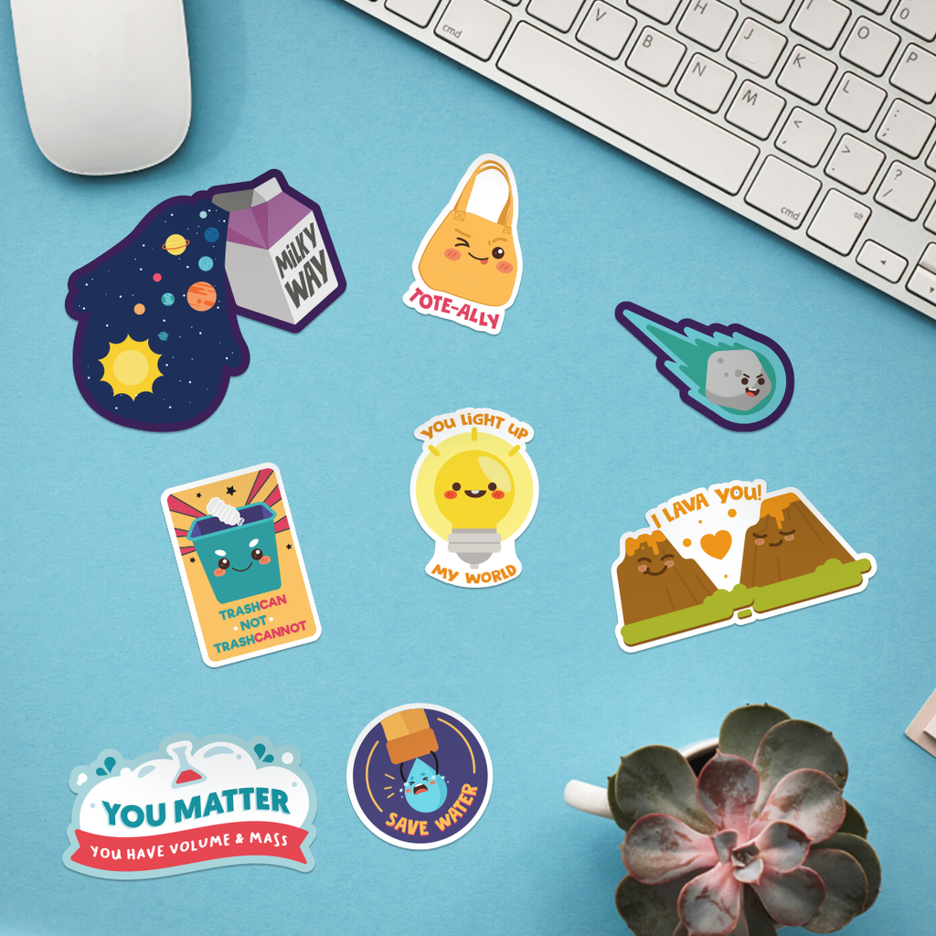 Build Your Own Sticker Sheet: Science Fun Sticker Pack Edition