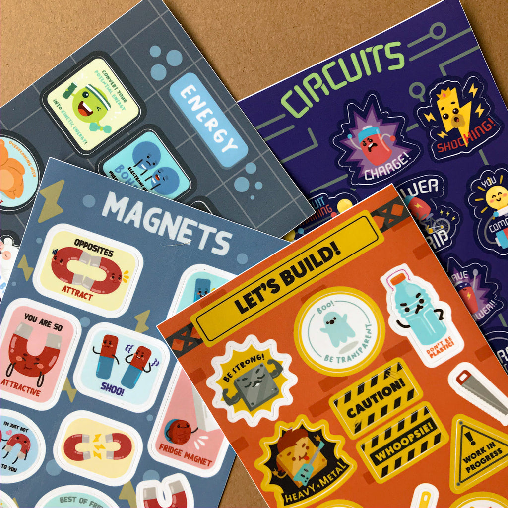 Physics Sticker Pack