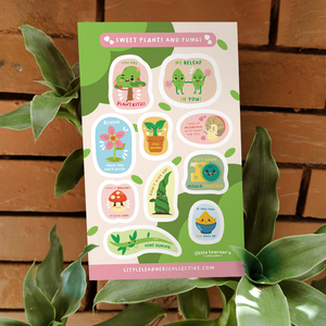 Generic Plants Sticker Sheet