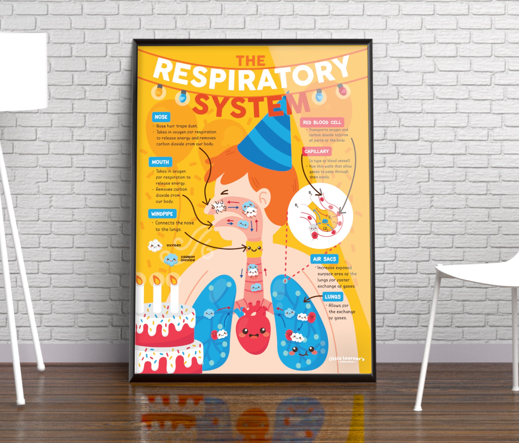 Respiratory System: Party in a Poster