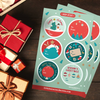 Warm Wishes Christmas Gift Tag Sticker Bundle