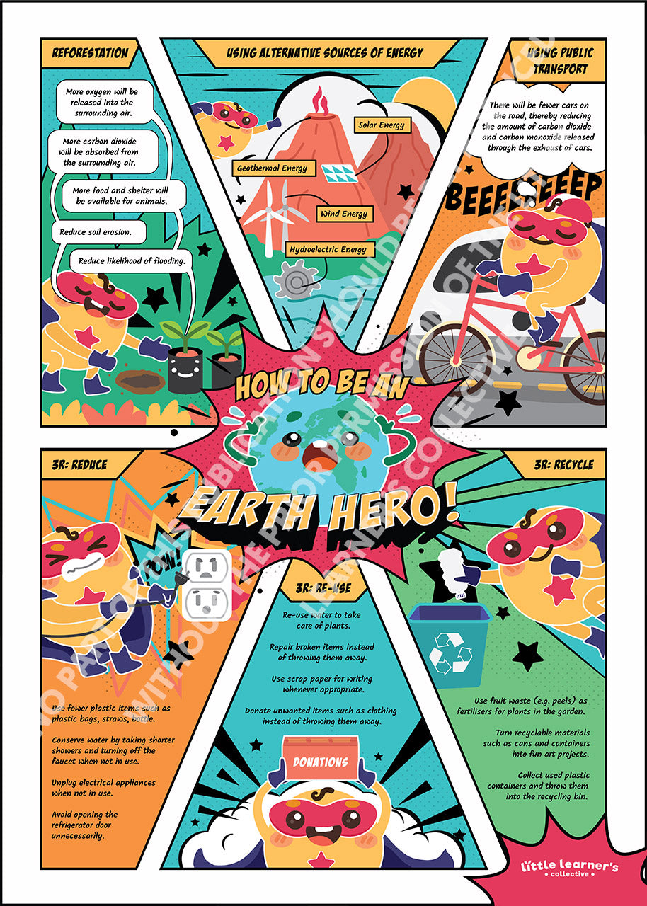 Earth Hero: Ways To Help The Environment