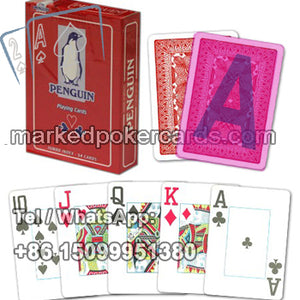 Copag Penguin luminous ink marked cards