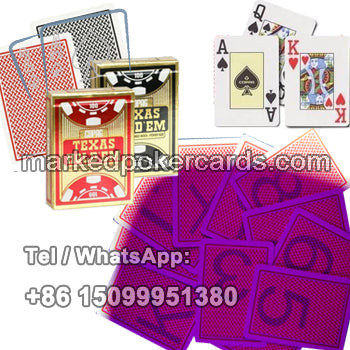 Copag Texas Hold'em Jumbo Index marked cards