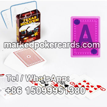 Dal Negro Texas Hold'em Marked Plastic Cards