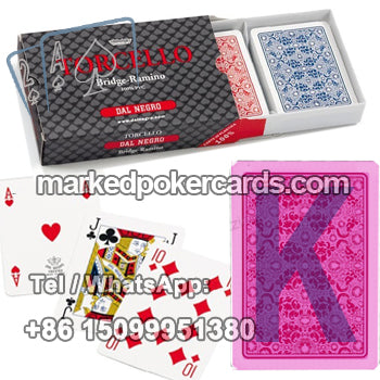 Dal Negro infrared poker cards