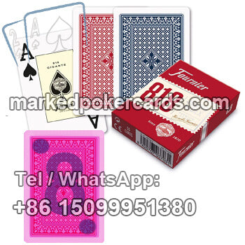 Fournier 818 Playing Cards Cheating Tricks