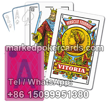 Fournier Calidad Casino Gambling Playing Cards
